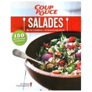 Coup de Pouce Salades french cookbook